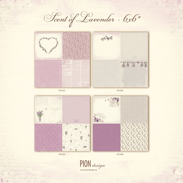 Scent of Lavender 6x6 - PD7300