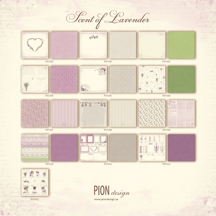 Scent of Lavender - PD7200