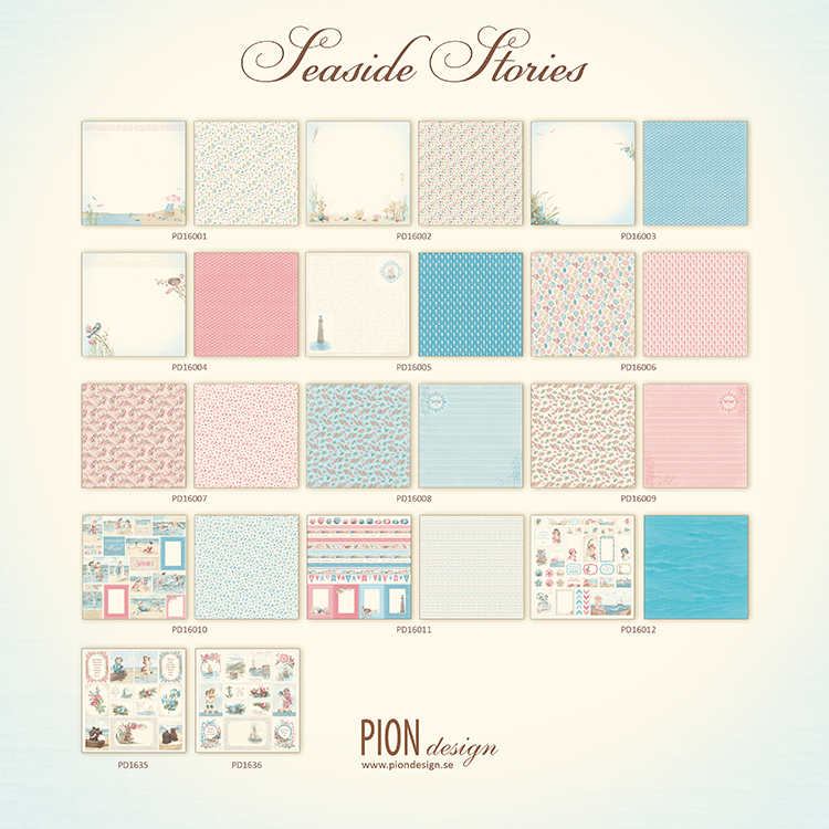 Images From The Past Pion Design Seaside Stories 2